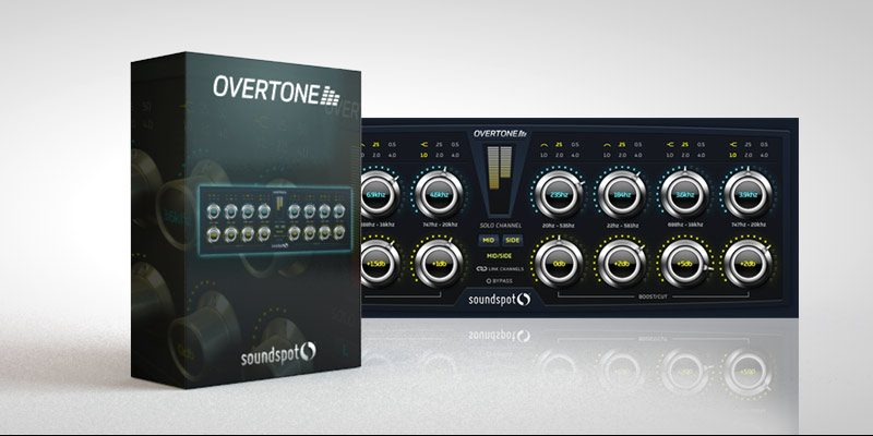 SoundSpot Overtone Mastering Plugin Packaging Graphics